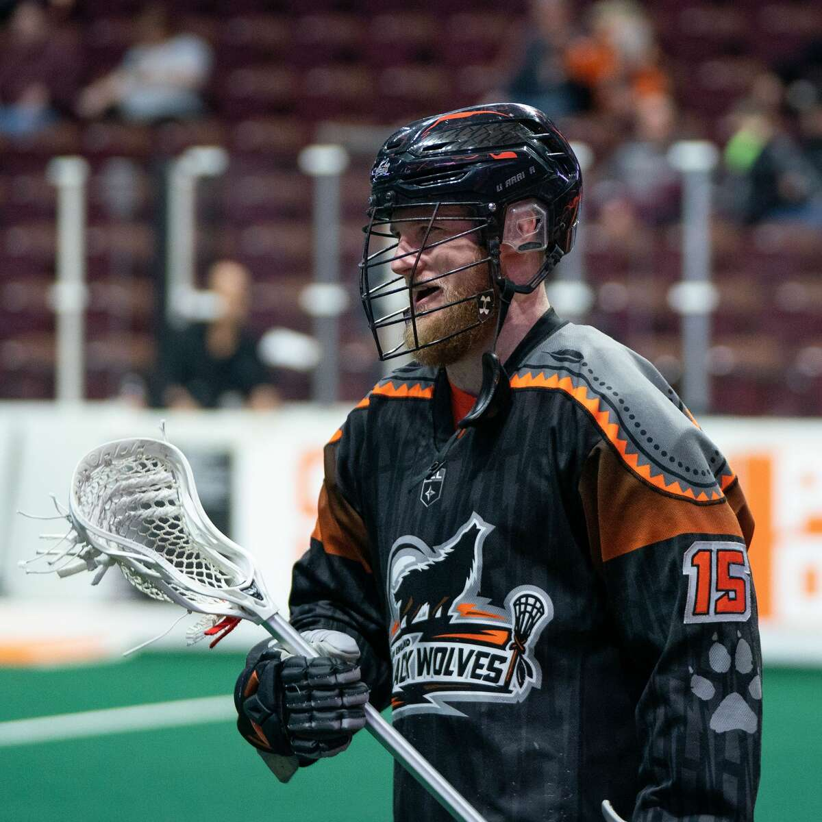 University at Albany graduate Joe Resetarits spent the past two seasons with the New England Black Wolves, who relocated to Times Union Center last week.(Chris Poss)