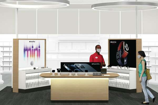 At some of its stores, including a San Antonio location, Target is doubling the space devoted to Apple products.