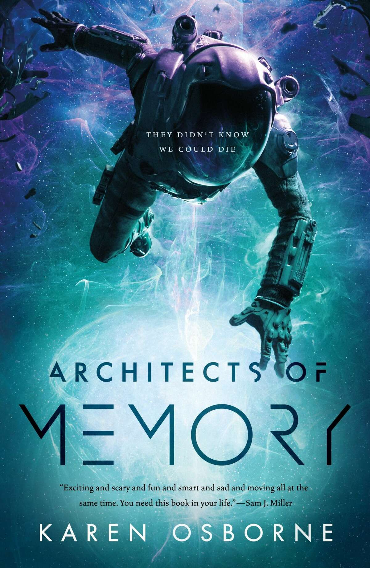 """Karen Osborne, a Niskayuna native, wrote """"Architects of Memory."""" The sequel, """"Engines of Oblivion,"""" was released this past summer."""