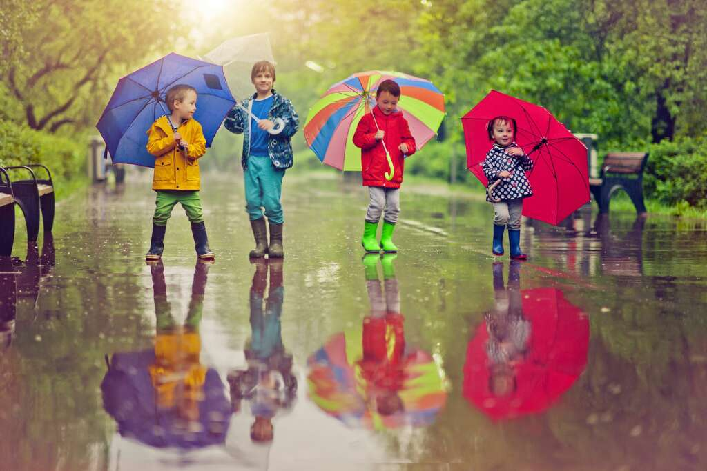 It's National Umbrella Month and we've uncovered a great deal for you to get umbrellas, rain coats, hats and more for 30% off.
