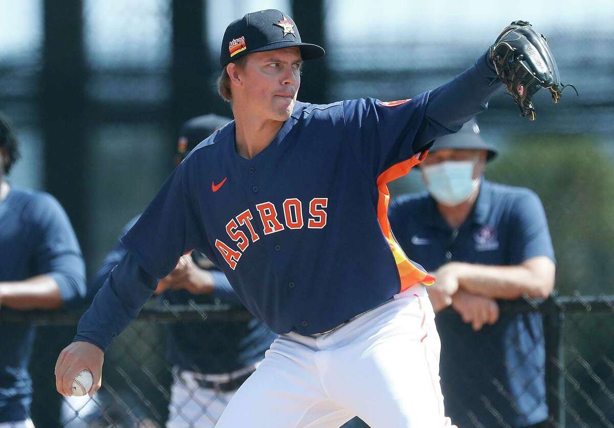 After expressing doubts about the previous regime last year, Zack Greinke has the full faith of manager Dusty Baker as the veteran ace enters the final season of his Astros contract.