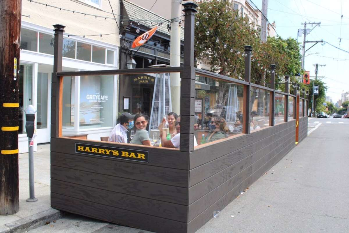 Harry's Bar is at 2020 Fillmore St. in San Francisco.