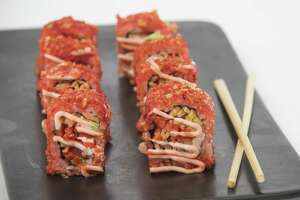 Flamin' Hot sushi, with crushed Flamin' Hot Cheetos, will be available at Stop & Shop stores in Connecticut.
