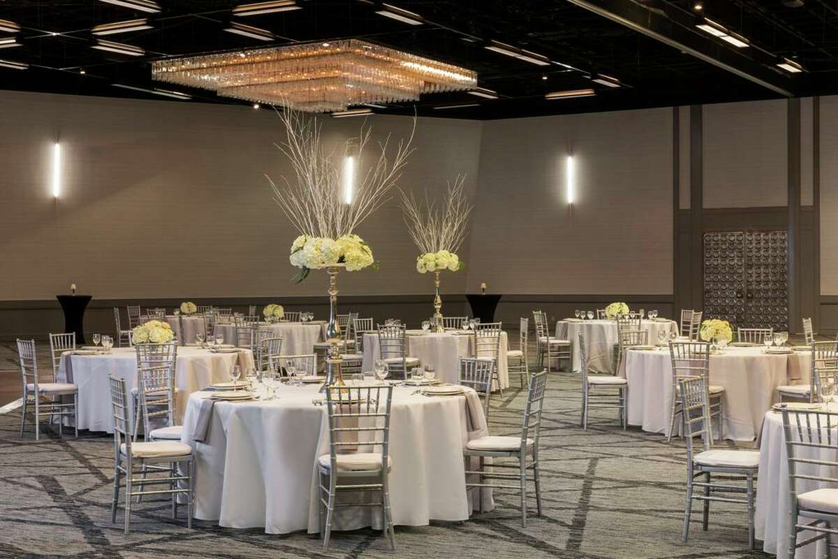 The Hyatt Regency Houston took advantage of a quieter 2020 to do remodeling in its guest rooms, corridors, lobby, meeting venues, restaurants and public spaces. Renovations include a new look for the Imperial Ballroom.