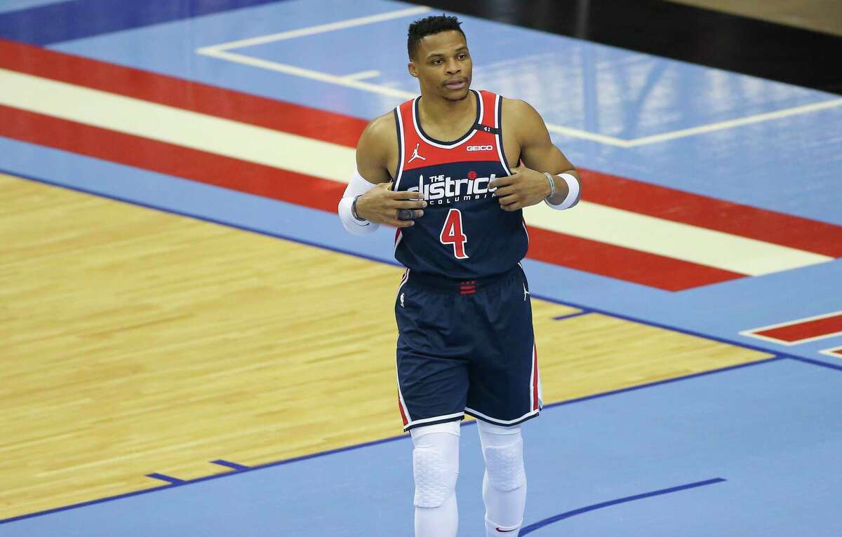 Washington Wizards guard Russell Westbrook donated $100,000 to the Houston-Harris County Winter Storm Relief Fund on Monday, according to the city. Westbrook was traded by the Houston Rockets in December.