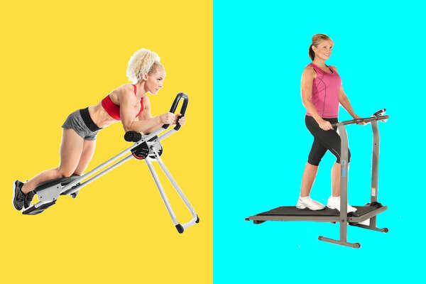 ProForm Ab Trax, $119.99 Stamina T900 Manual Treadmill, $129.99