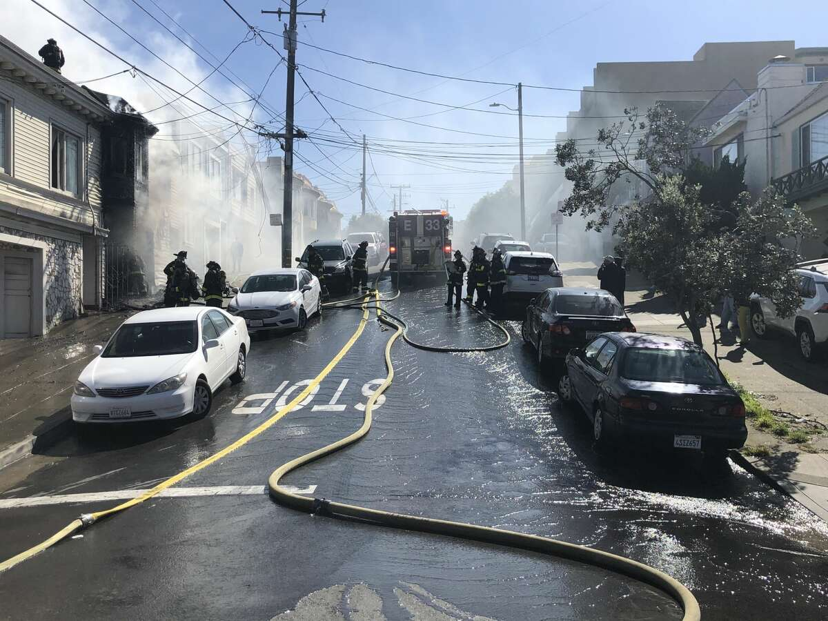 Seven people were injured in a house fire in the field mission on Monday March 1, 2021.