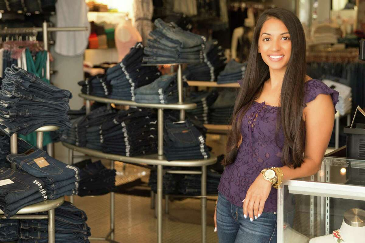 Erica Malhotra, owner of B Chic, said becoming the store owner at 28 years old was a once-in-a-lifetime opportunity.
