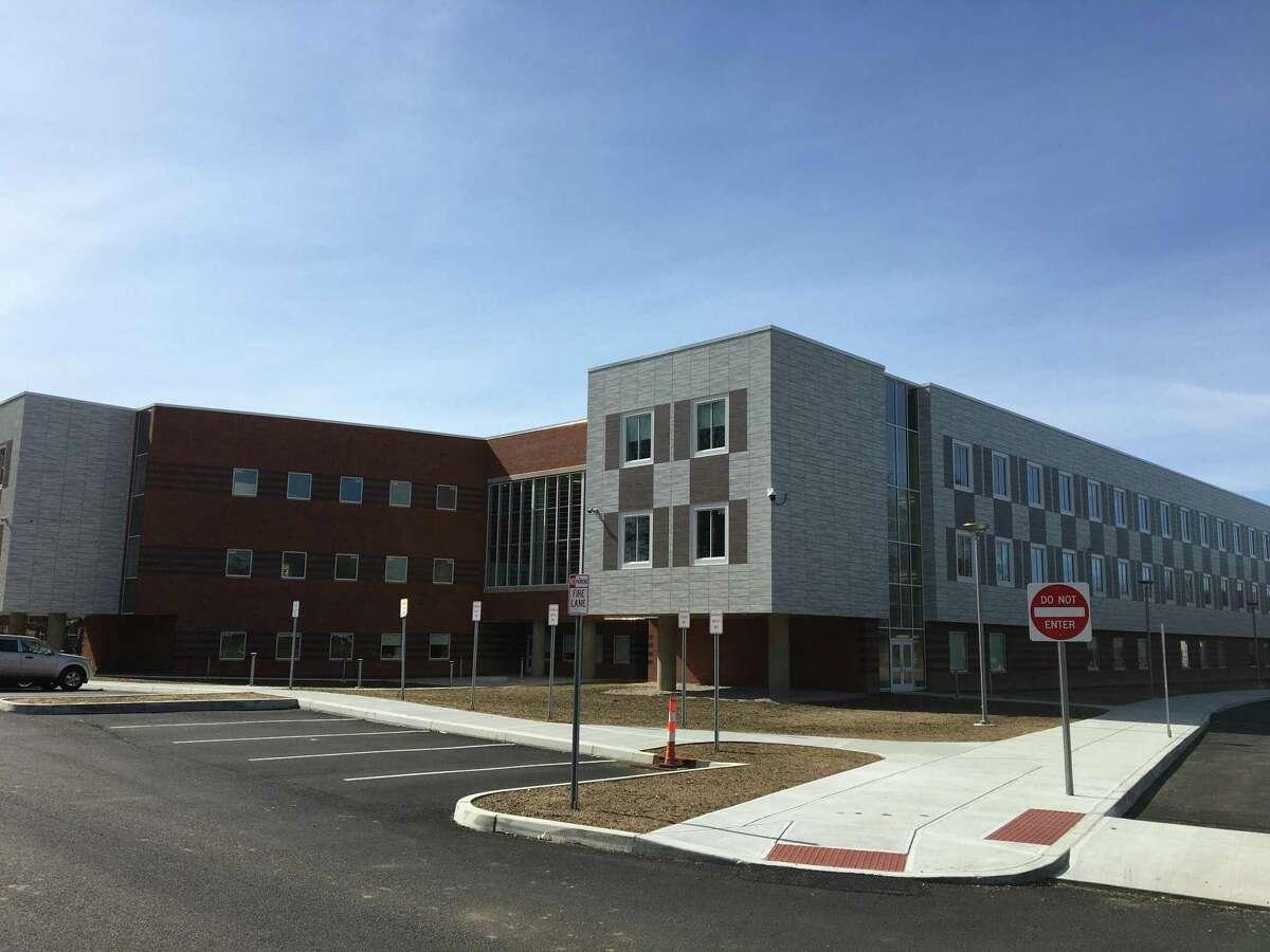 Branford's Walsh Intermediate School, 2020.