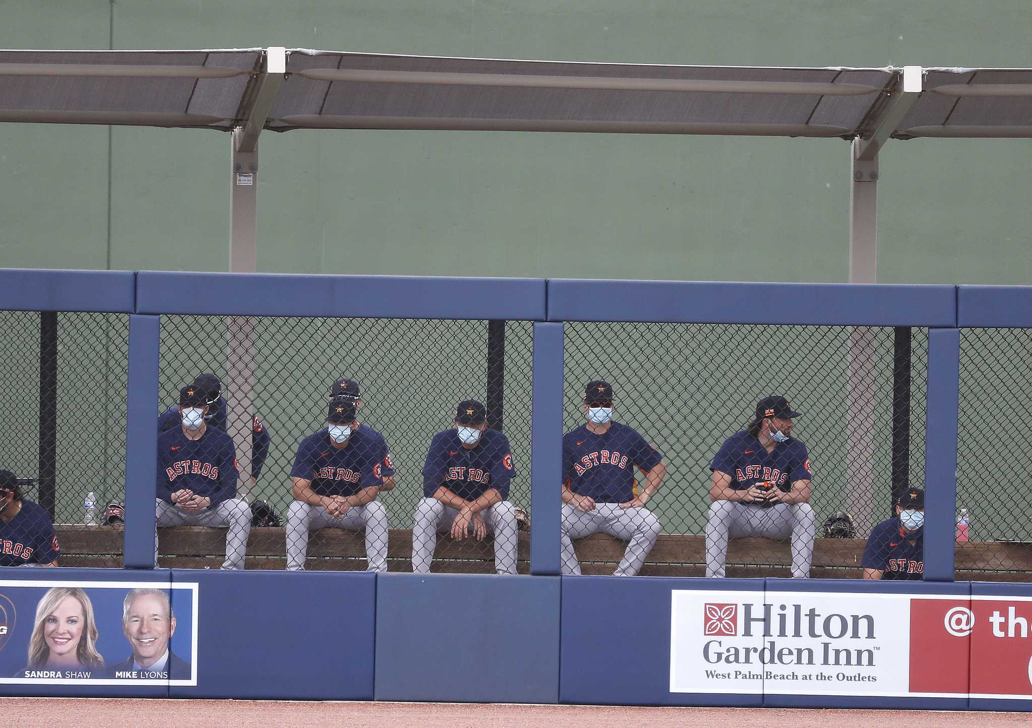 Astros a day away from hitting vaccination threshold mark for relaxed protocols