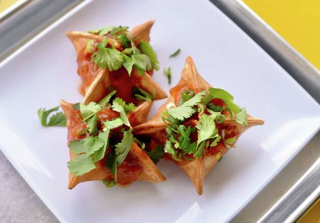 Crab rangoon at Yelo, a new craft banh mi shop in Katy from Phat Eatery owner Alex Au-Yeung with a menu from Cuc Lam. Photo: Kimberly Park / Kimberly Park
