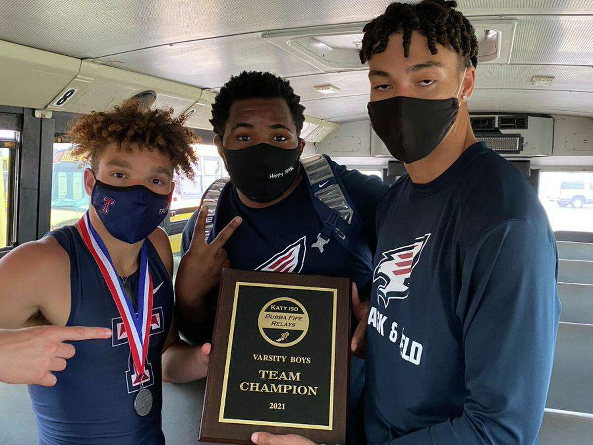 Tompkins won the boys team championship at the Bubba Fife Relays, scoring 142 points to edge Seven Lakes and Cinco Ranch.