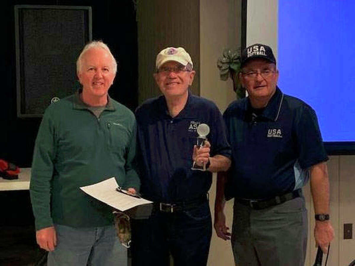 Former Telegraph sports editor Steve Porter was the recipient of the third annual Leroy Emerick Lifetime Service and Dedication Award during the 2021 Riverbend USA Softball State Umpire Clinic Saturday at the Alton Sports Tap. The award recognizes a person's lifetime of service to ASA/USA softball in the Riverbend. Porter covered the local softball scene for more than four decades in 40 years at TheTelegraph. He was elected to the Illinois Amateur Softball Association Hall of Fame in 2004 and teamed with former ASA Commissioner Chuck McCord in establishing the Don Plarski State Umpiring Award in 1982. Porter, 69, is a 1969 graduate of Triad High School and 1973 SIUE grad. He's also a member of the Illinois Basketball Coaches Hall of Fame, the Alton City Hall of Fame and the Alton Athletics Hall of Fame.