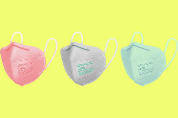Powecom KN95 Respirator Mask 10 pack for $9.98 on Bona Fide Masks