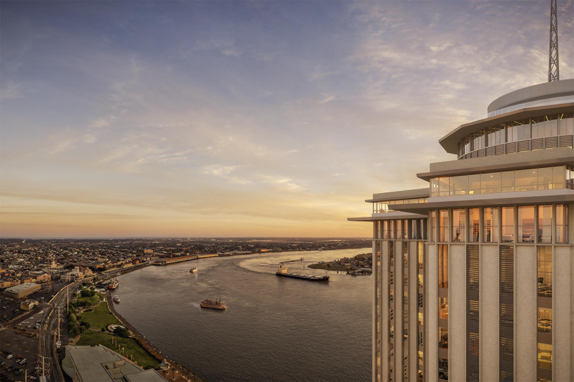 Check out the latest hotel projects in New Orleans