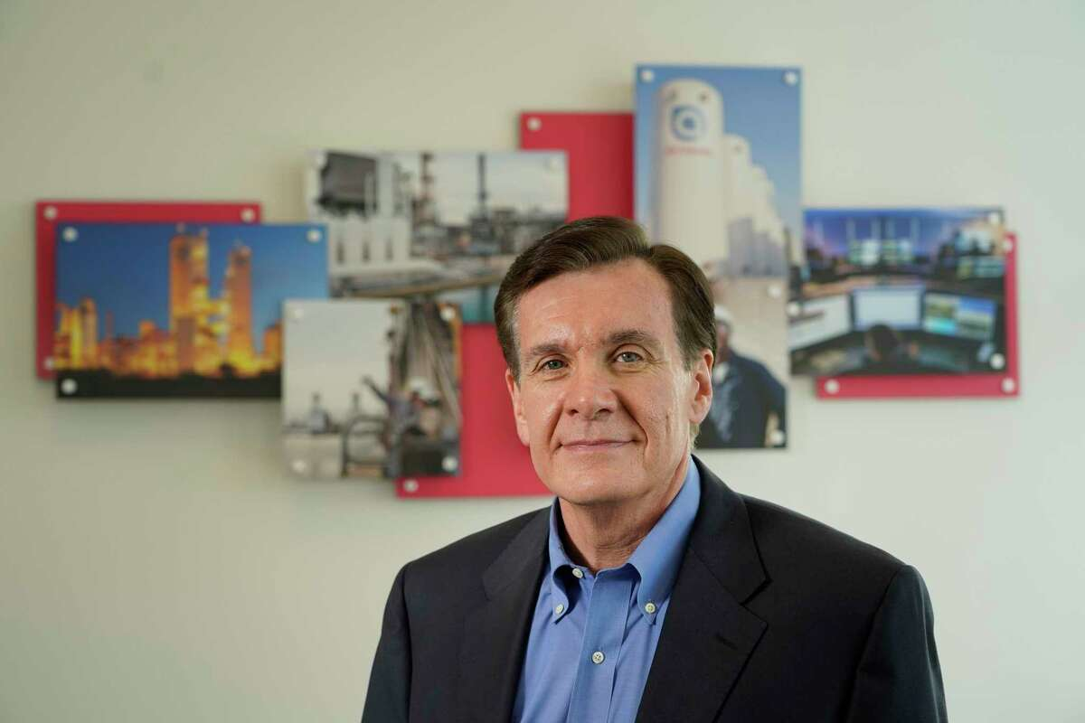Mike Graff, CEO of American Air Liquide Holdings, is shown Tuesday, March 2, 2021 in Houston.
