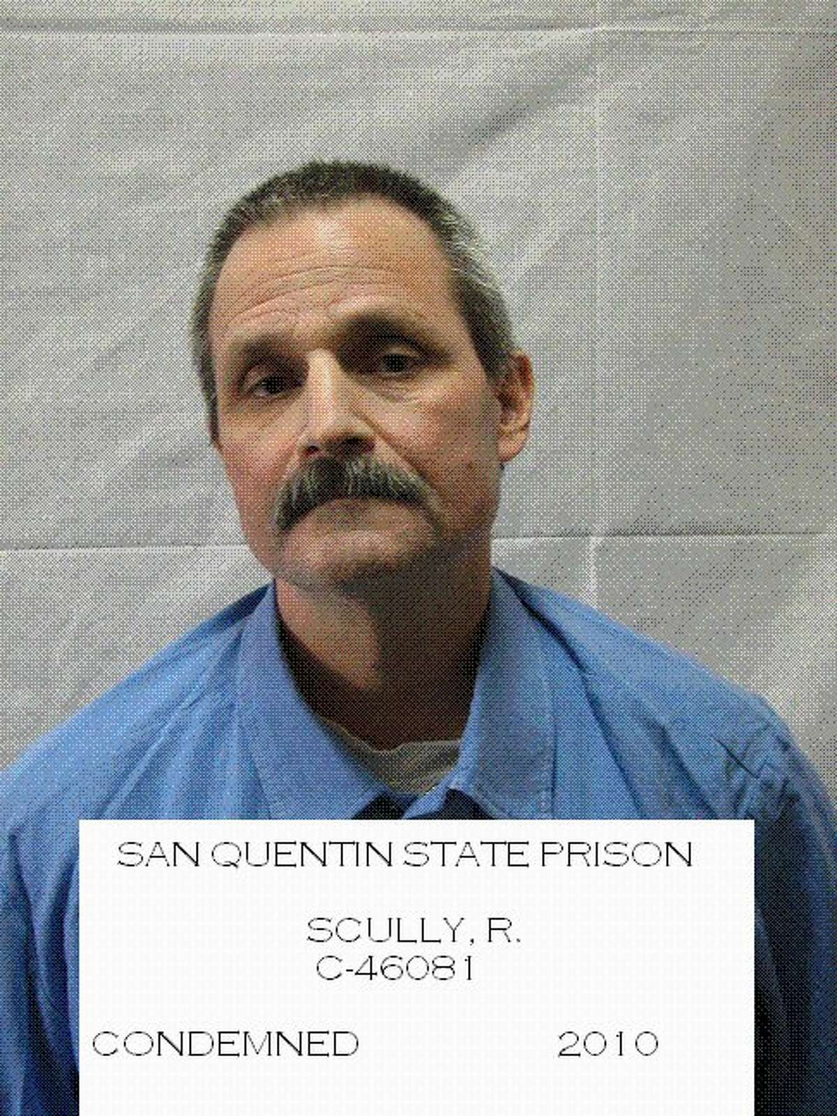 Robert Scully is on death row for killing Sonoma County sherrif's Deputy Frank Trejo in March 1995.