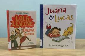 """""""Juana and Lucas"""" by Juana Medina is set in Columbia. Juana doesn't want to learn English. She just wants to play with her dog -- until a surprise comes up that makes her want to learn. (Courtesy photo)"""