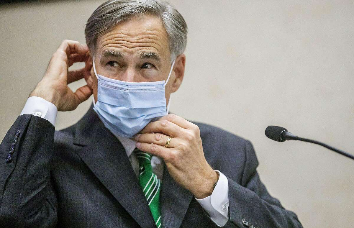 Gov. Greg Abbott on Wednesday wrote a letter to Austin Mayor Steve Adler saying the city is allowed to fine anyone who violates Abbott's executive order to wear a mask during the coronavirus pandemic. (Ricardo Brazzziell/Austin American-Statesman/TNS)