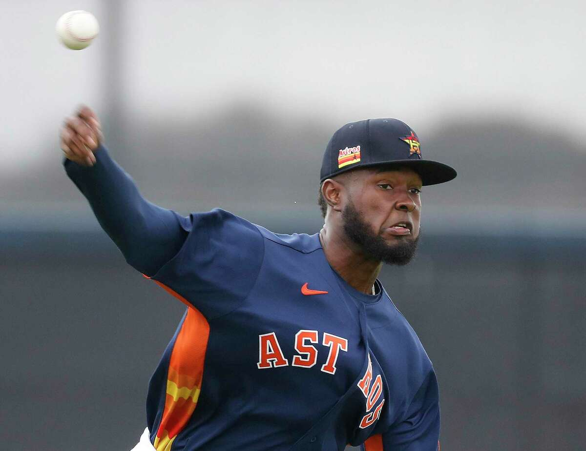 Cristian Javier, who threw two scoreless innings in Tuesday's 2-0 loss to the Mets, might be asked to throw 160 to 190 innings for the Astros this year.