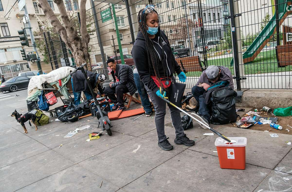 A reported 252 people died of drug overdoses in San Francisco from January to April of 2021.