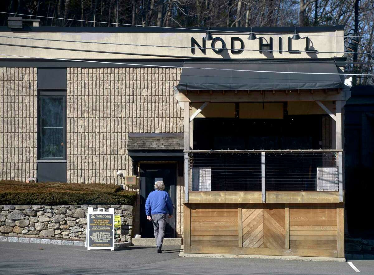 Nod Hill Brewery is building an event space in the brewery and adding a biergarten and pollinator pathway to its outside meadow. Tuesday, March 2, 2021, in Ridgefield, Conn.