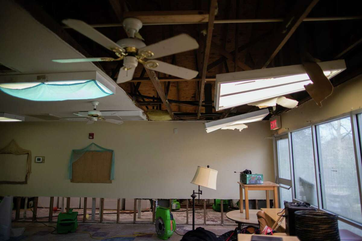 The Bridge Over Troubled Waters childcare room pre-k children, Tuesday, March 2, 2021, in Pasadena. The room was damaged by frozen burst pipes during the Winter Storm Uri.