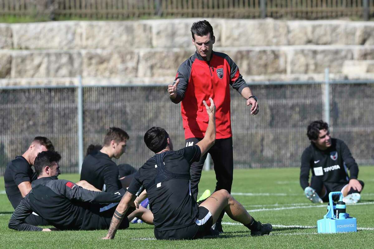 San Antonio FC coach Alen Marcina had some new players to greet this year as SAFC has six newcomers, including five who have played in the MLS or signed an MLS contract.