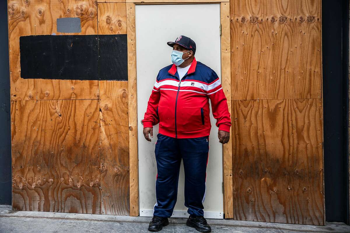 Marlin Tanner, 70, had been living in his car and appreciates his hotel room, but worries about what's next.