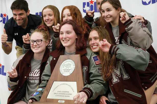 Magnolia finished second overall in Class 5A during the UIL State Swimming & Diving Championships, Tuesday, March 2, 2021, in San Antonio.
