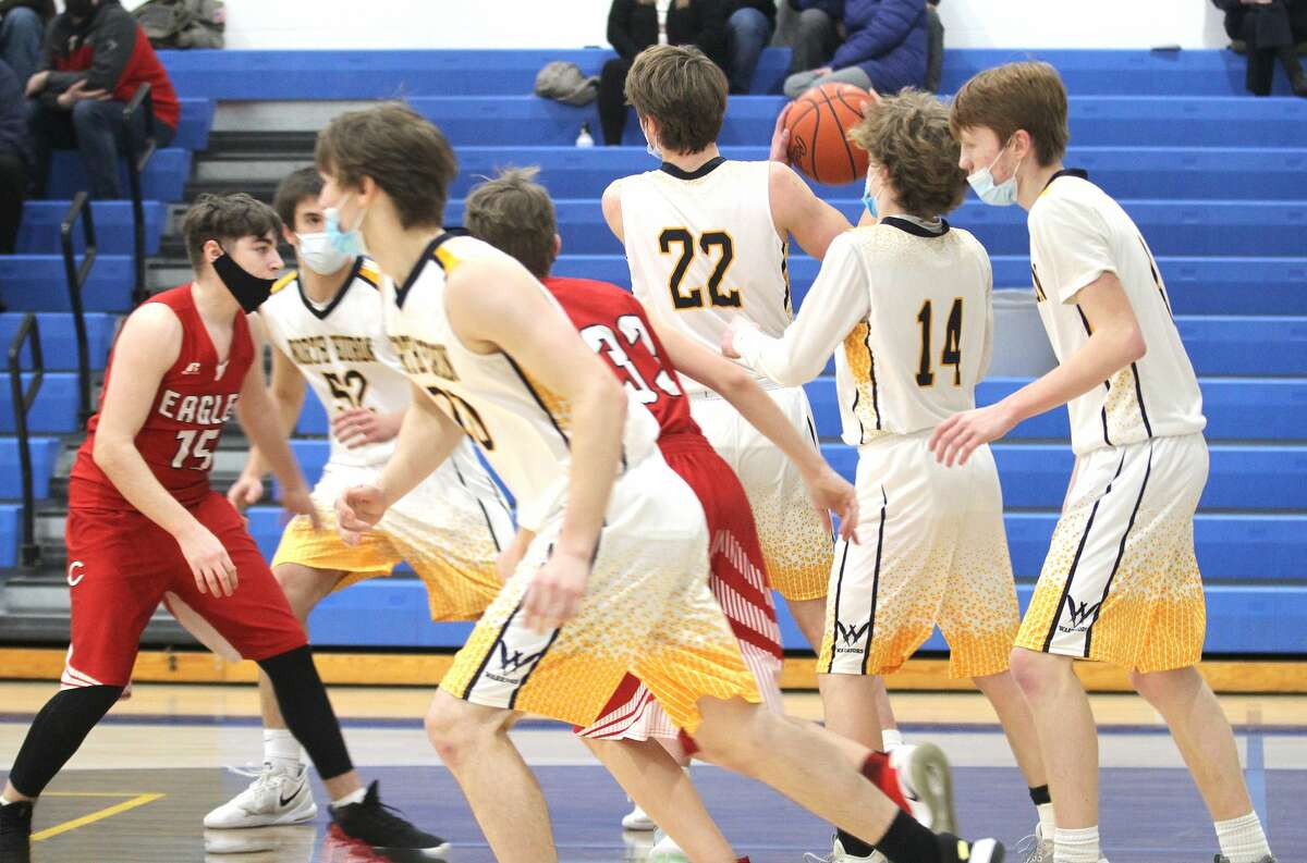 The North Huron boys basketball team topped visiting Caseville on Tuesday night, 70-53.