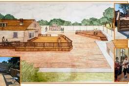 This rendering shows the mutliple phases of The House of Miles East St. Louis (HOME) project to restore the childhood home of Miles Davis born in Alton. The family moved to East St. Louis when he was 6 months old.