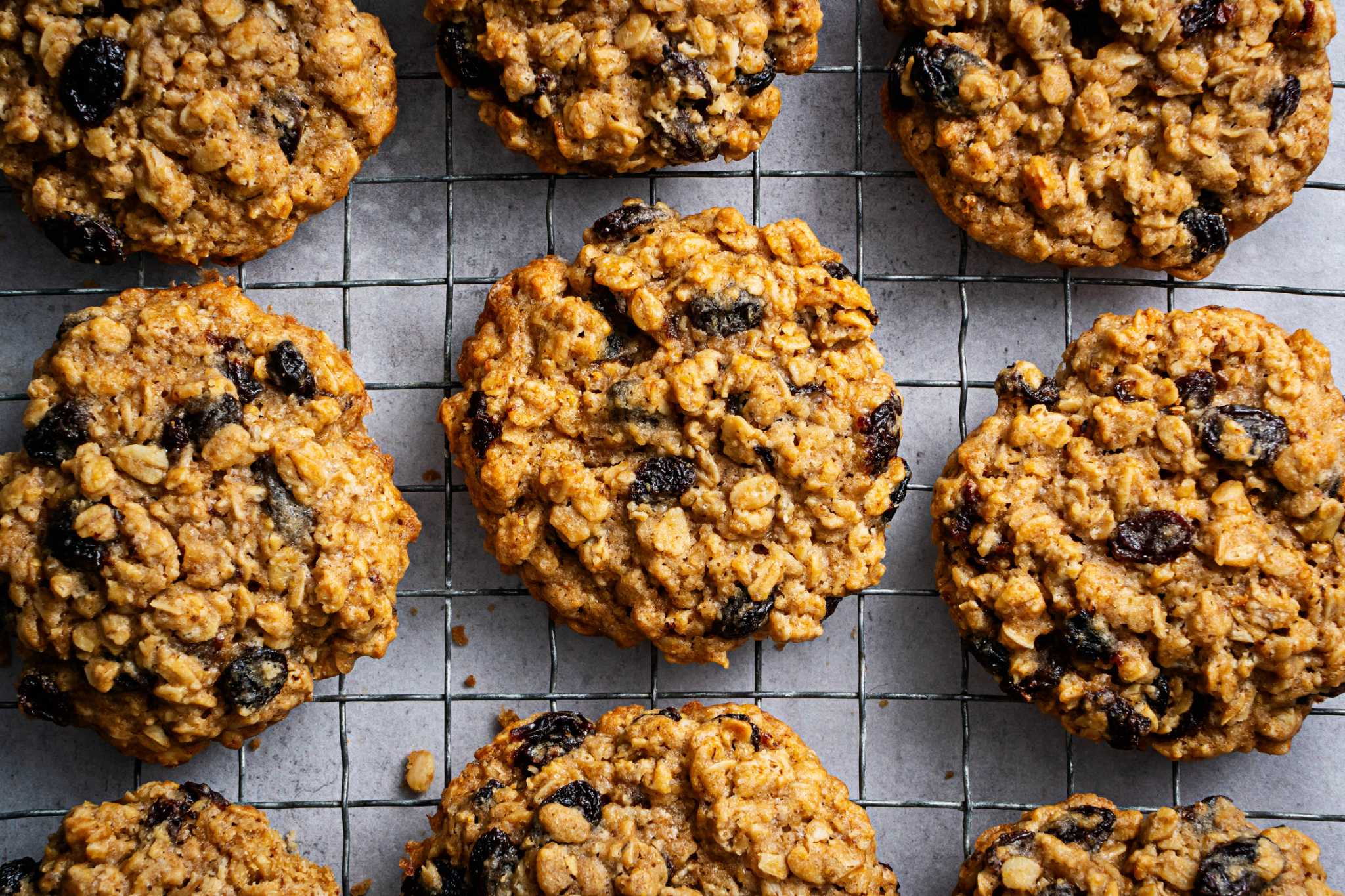 Thick and chewy oatmeal raisin cookies are a classic for a reason