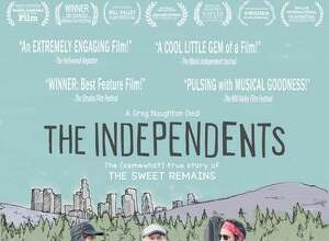 """Westport musician Greg Naughton acted, directed and produced his new film """"The Independents."""" The film is loosely based on his experience with his band The Sweet Remains."""