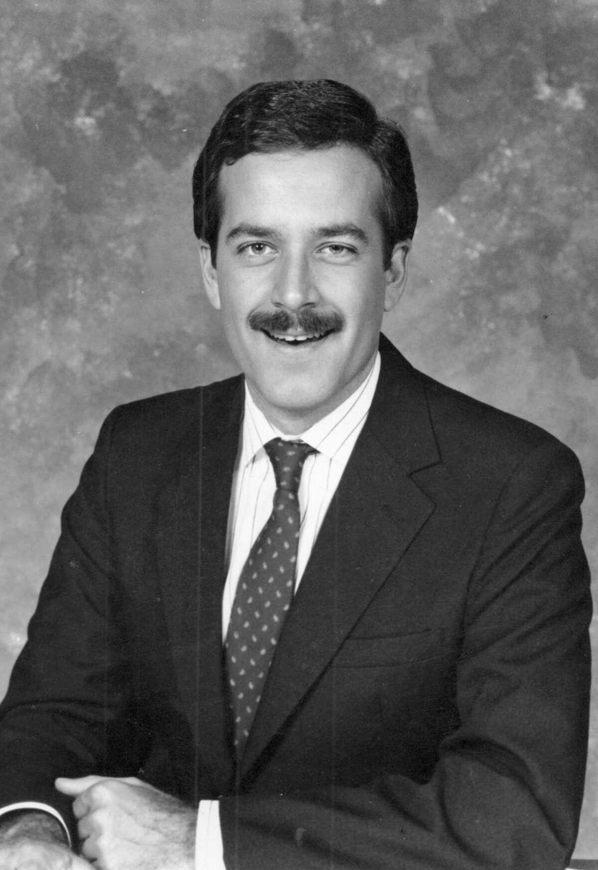 "Randy Beamer back when he sported an ""Anchorman""-worthy mustache."