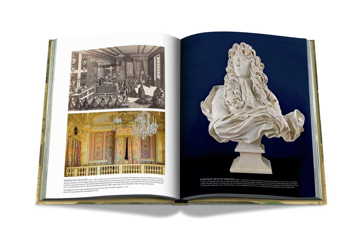 """""""Versailles: From Louis XIV to Jeff Koons,"""" by Catherine Pegard, is a special edition book available exclusively at the new Assouline boutique at River Oaks District, 4444 Westheimer."""