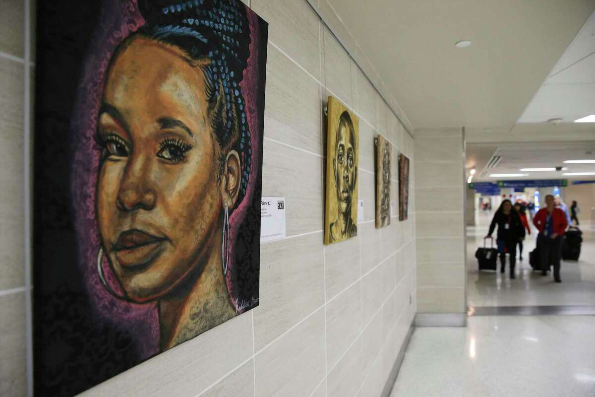 An exhibit at San Antonio International Airport celebrated Black History Month. A reader thanks columnist Cary Clack for his two-part essay on historical racism and inequality.