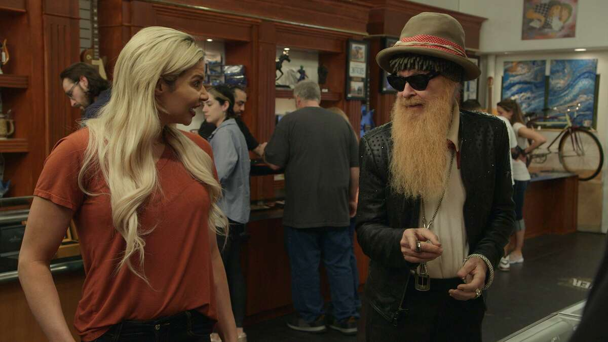 """On the History Channel's """"Pawn Stars,"""" a woman named Dani brought in a rhinstone-studded suit by Nudie's Rodeo Tailors that once belonged to ZZ Top's Billy Gibbons. Gibbons lost the suit nearly 50 years ago, leaving it on an airplane. Gibbons and """"Pawn Stars"""" host Rick Harrison split the $40,000 cost to acquire the suit, which they plan to donate to a future Antone's mini-museum in Austin."""