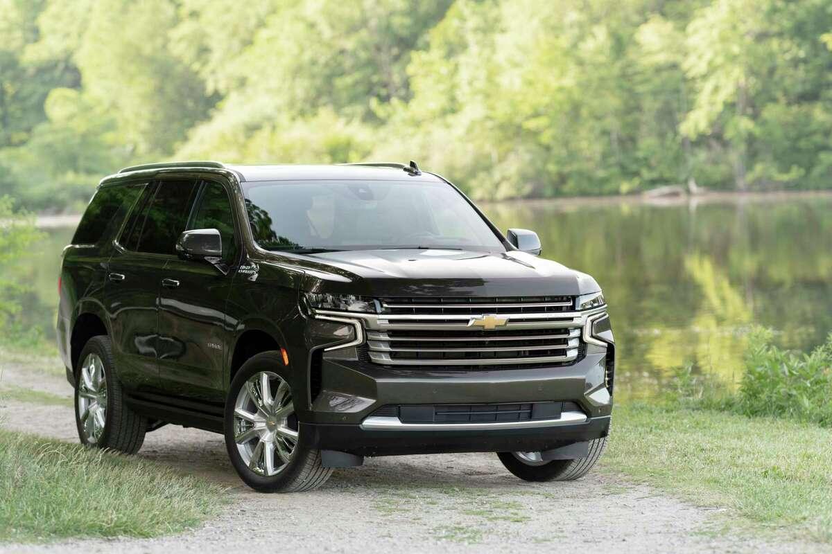Chevrolet's 2021 Tahoe features an independent rear suspension.