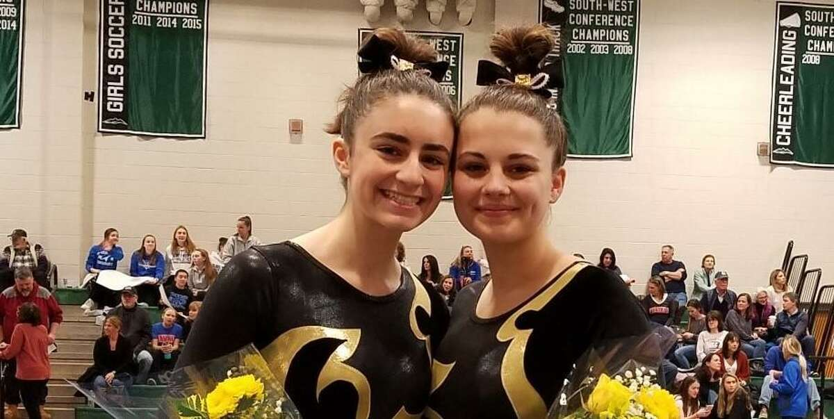 Catherine Burns and Emma Nelly earned All-State honors for the 2020 SCC champions.