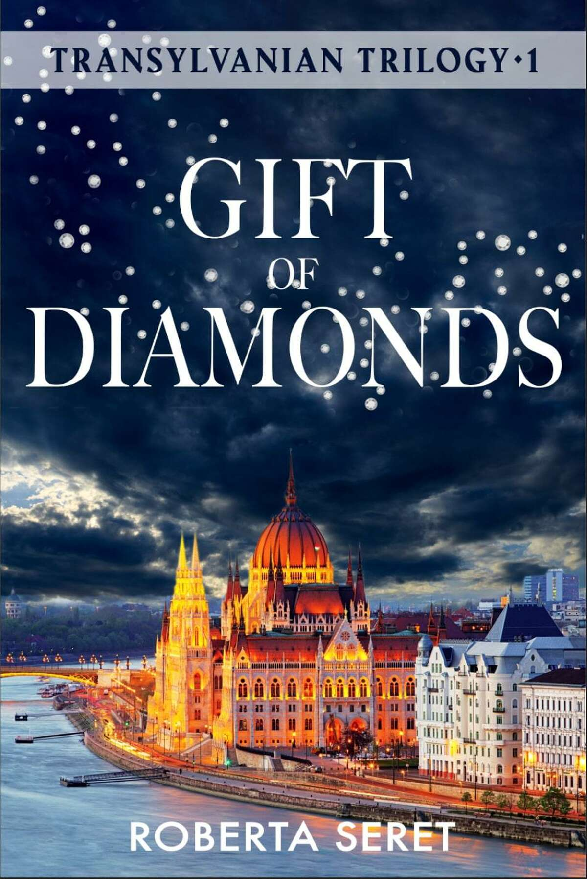 """Roberta Seret, an author from Westport, has penned a new historical fiction novel, """"Gift of Diamonds"""" about a 1990 revolution in Bucharest, Romania. The book is the first in the Transylvania Trilogy."""""""