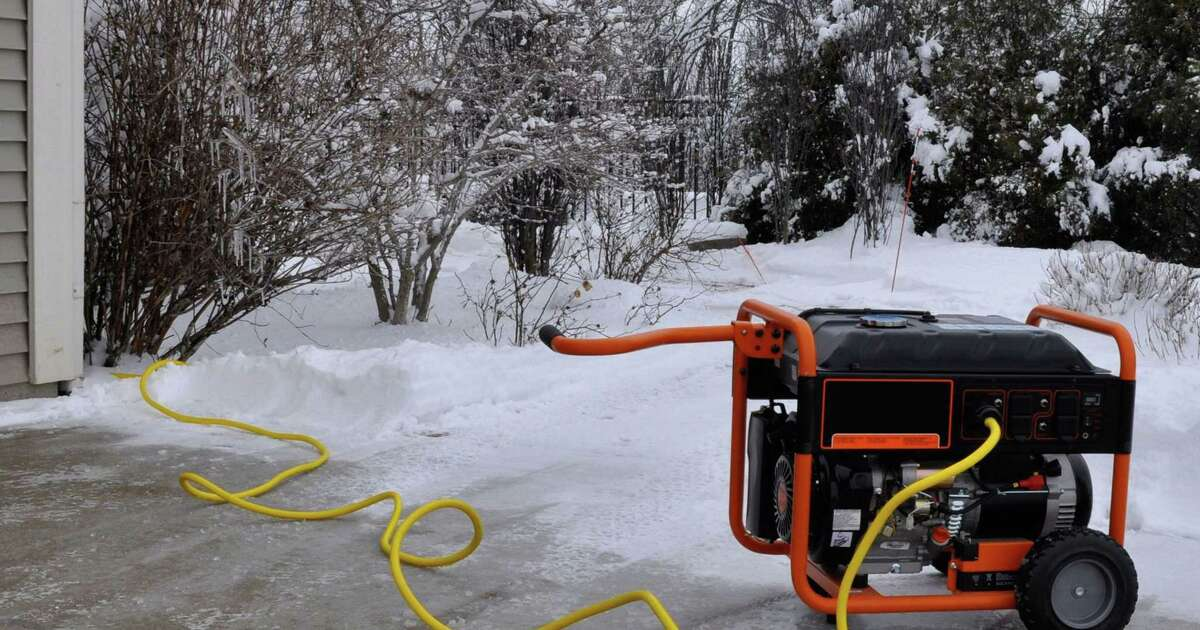Use gas-powered generators with care, keeping it outdoors and away from windows and being mindful of carbon monoxide poisoning.