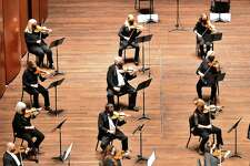 The San Antonio Symphony returned to live performances in February with a socially distanced performance at the Tobin Center for the Performing Arts. The Tobin Center plans to keep pandemic-related safety measures in place for the time being.
