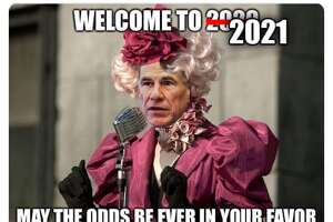 Does Gov. Abbott think this is the hunger games? Texans sure think so.