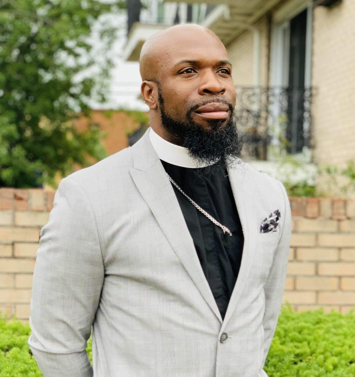 """Fifth Avenue AME Zion is welcoming its new leader, Rev. Xavier Hunter, 33. Heis eager to meet the Capital Region's interfaith community of """"Buddhist, Jewish, Muslim, even atheist"""" to tackle the problems of violence and poverty. """"Society has to change following the pandemic."""""""