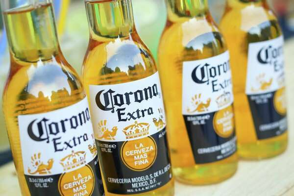Bottles of Corona beer are pictured. (Photo courtesy of Getty Images)