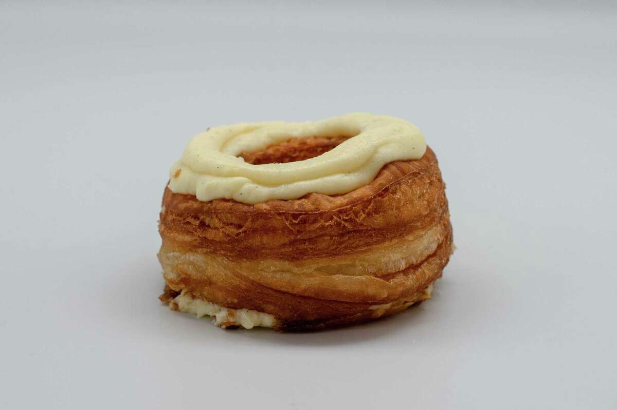 Grammie's vanilla cronut, a doughnut/croissant hybrid
