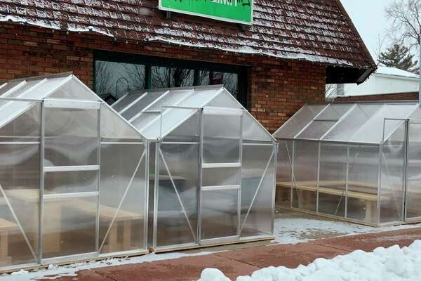 Reed City Brewing has been sustaining business amid the COVID-19 restrictions by adding outdoor beer sheds and offering curbside takeout. Owner of the business Deanna Murphy said she was relieved to see the capacity increased to 50%, but will continue to offer all options for customers. (Courtesy photo)