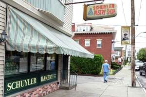 Schuyler Bakery on Third Avenue in the Port Schuyler district Friday July 14, 2017 in Watervliet, NY.  (John Carl D'Annibale / Times Union)