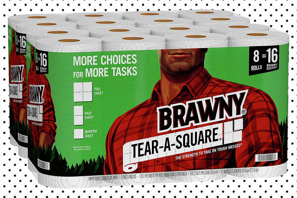 Brawny Tear-A-Square Paper Towels $28.96 at Amazon